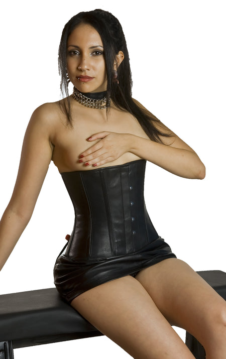 FULL BUST LEATHER FASHION CORSET LACING