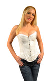 FULL BUST BRIDAL SILK CORSET SHELBY