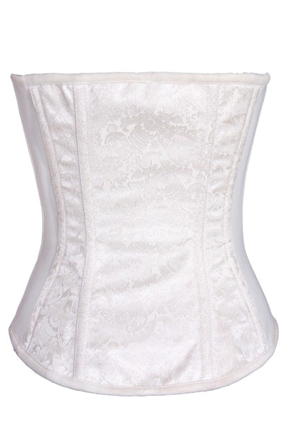 FULL BUST BRIDAL ZIPPER SMOOTH REAR CORSET