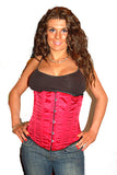 AFTER DARK BURGANDY UNDERBUST CORSET