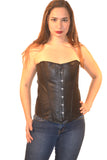 FULL BUST LEATHER BUSK FASHION CORSET