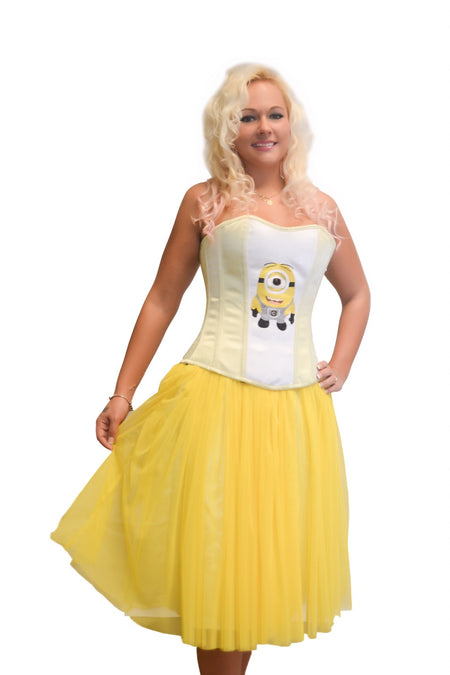 AFTER DARK YELLOW BEE FULL CORSET