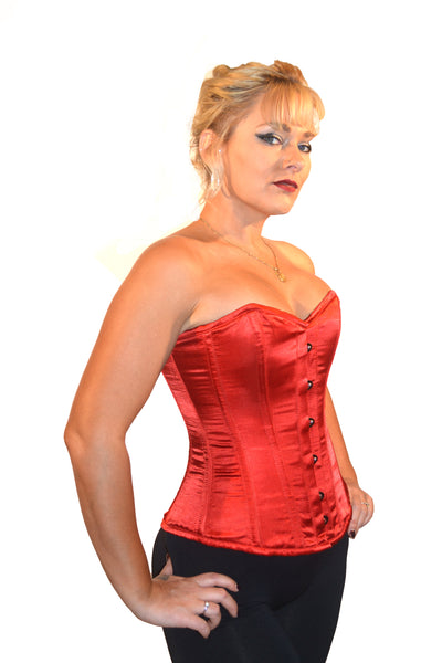 ROMANCE FULL BUST CORSET JANINE - RED