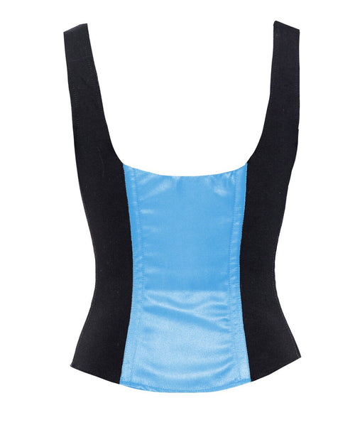 ROMANCE CORSET EVELYN BABY BLUE