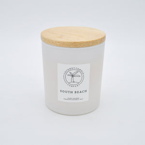 10oz south beach coconut wax candle
