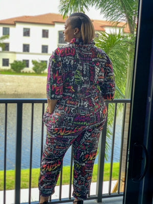 Graffiti Jumpsuit