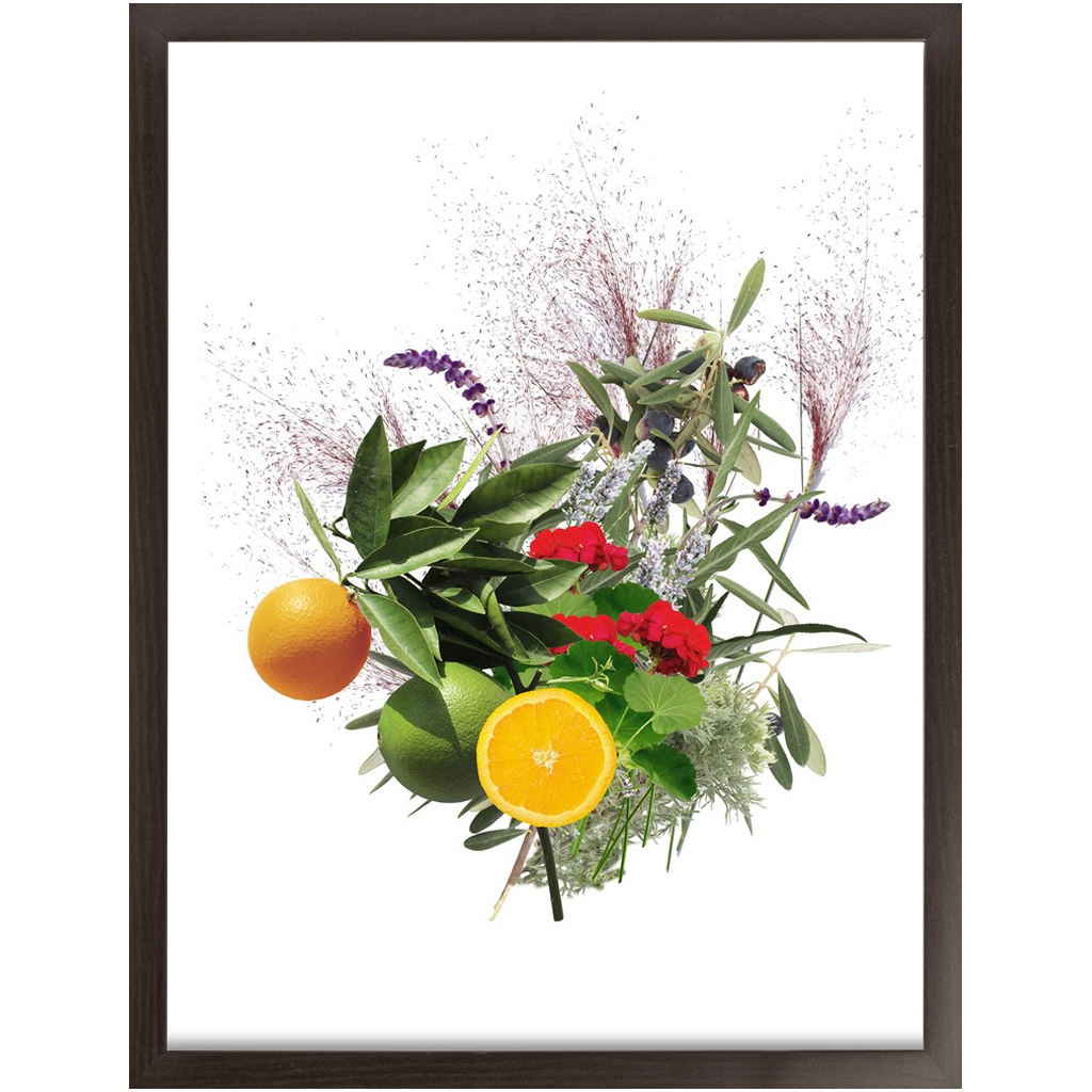 Mission Garden Bouquet Framed Print