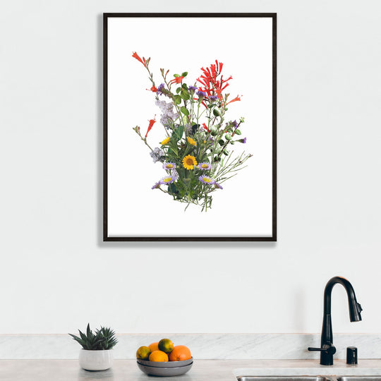 Catalina Bouquet Framed Print