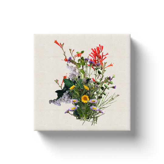 Catalina's Flower Bouquet Canvas Print