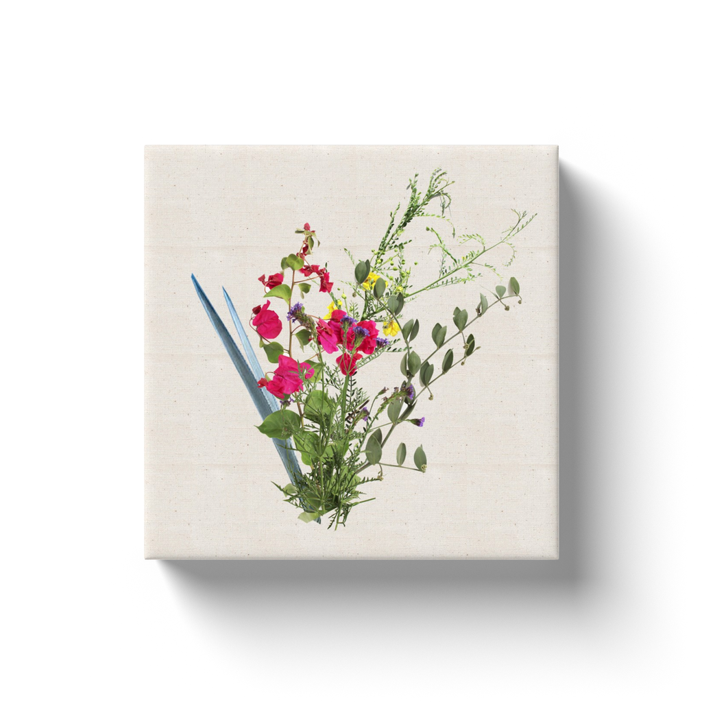 That Beach in Cabo Bouquet Canvas Print