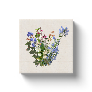 California Wild Lilac Garden Bouquet Canvas Print