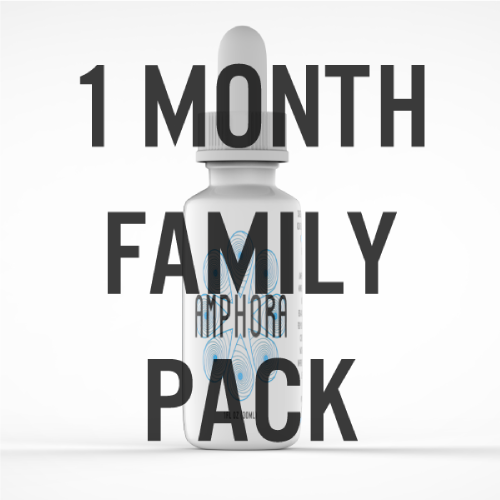 Amphora Water - Trace Minerals - Family Pack - 1 Month Supply