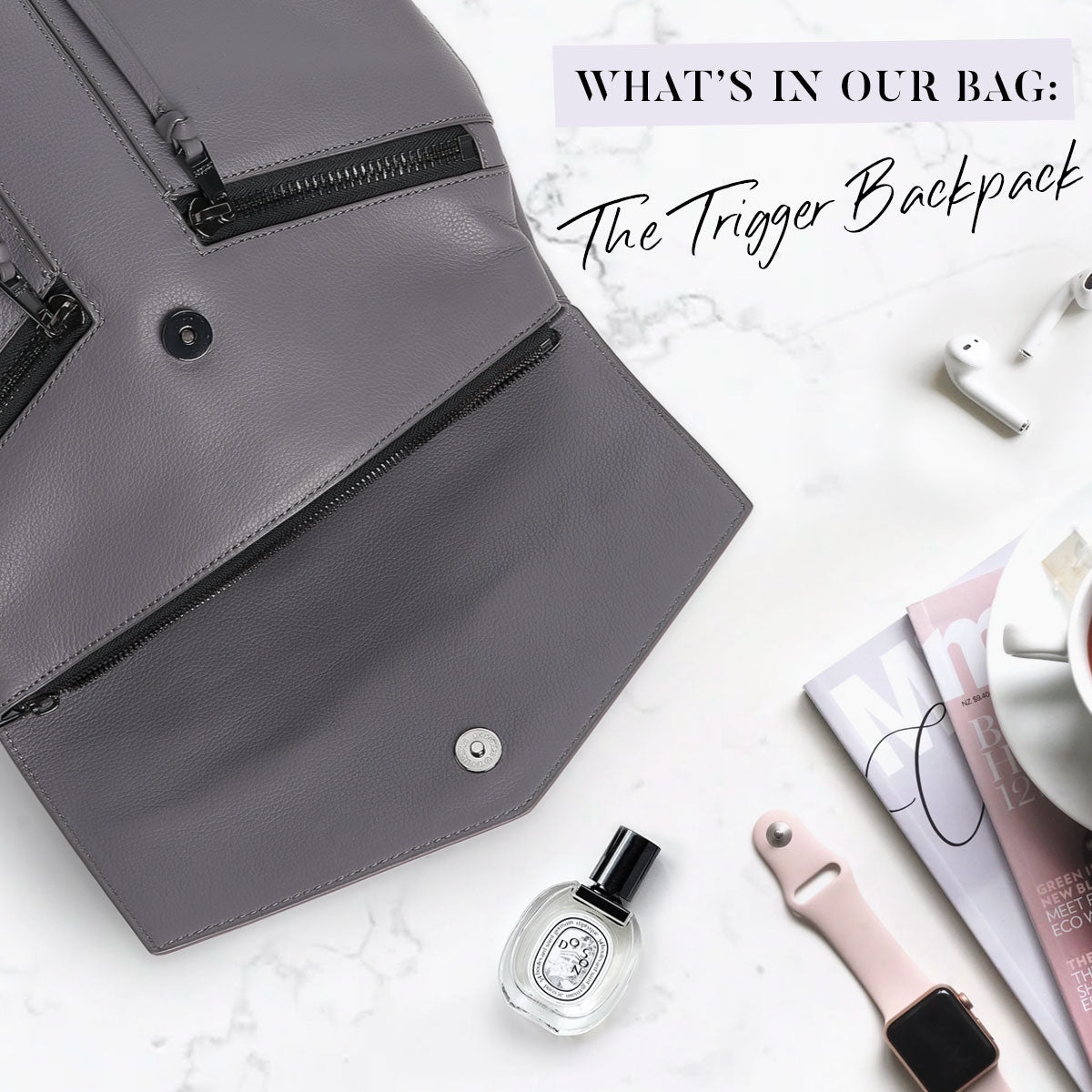 What's In Our Bag: Trigger Backpack