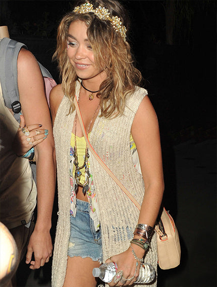 Sarah Hyland at Coachella with