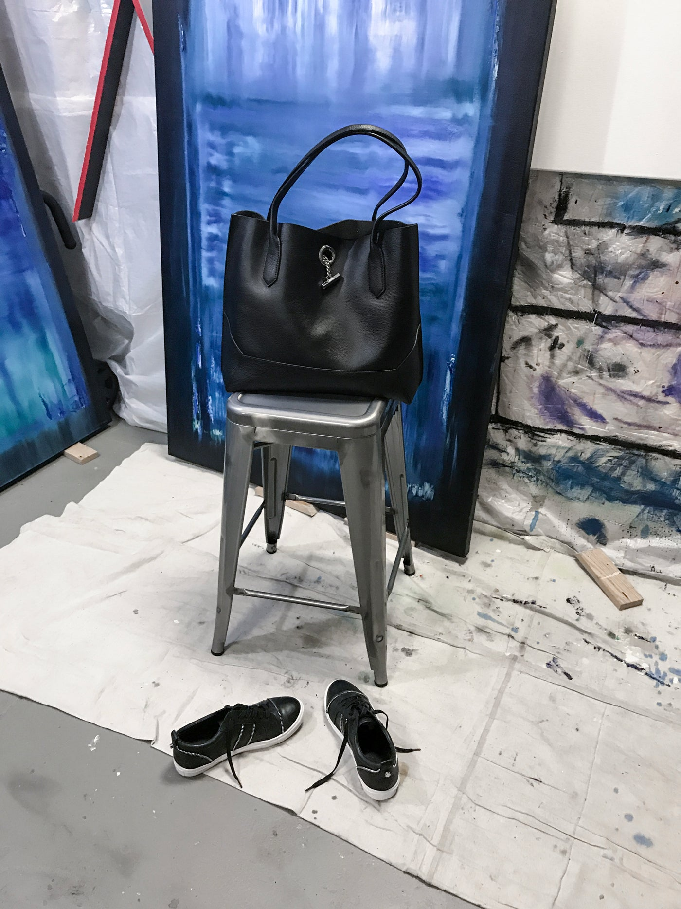 Waverly Tote + Harvey Sneakers