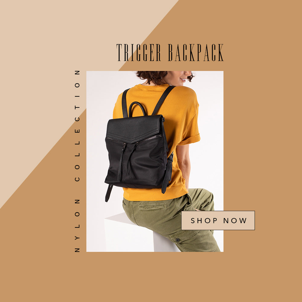 botkier trigger nylon backpack