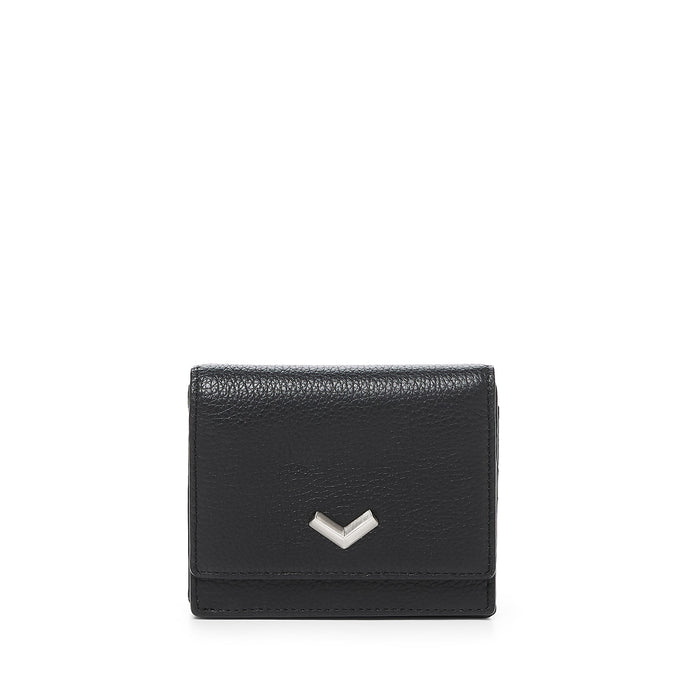 16F152D-HPBLK botkier soho mini wallet black A