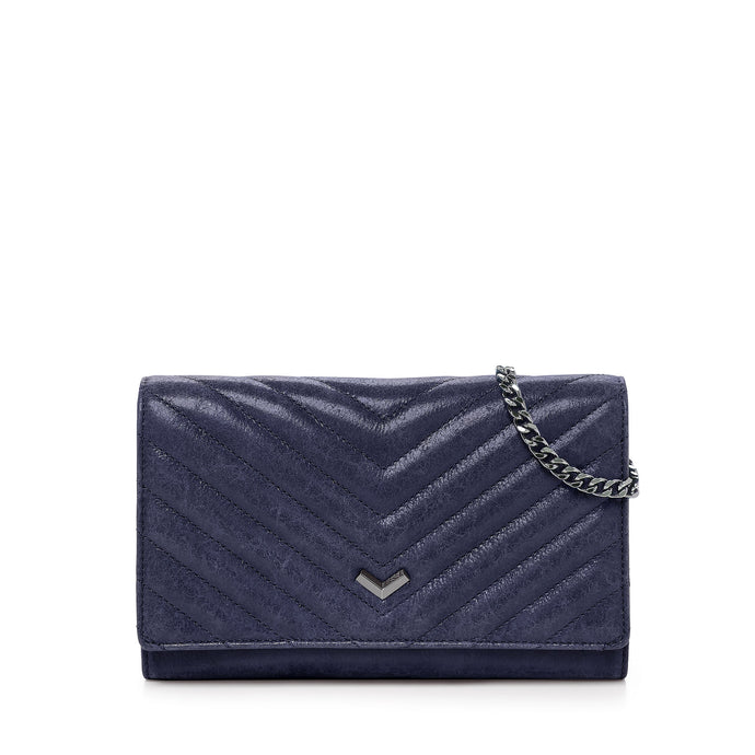 17F152Q-DLSAP botkier soho quilted chain wallet sapphire A