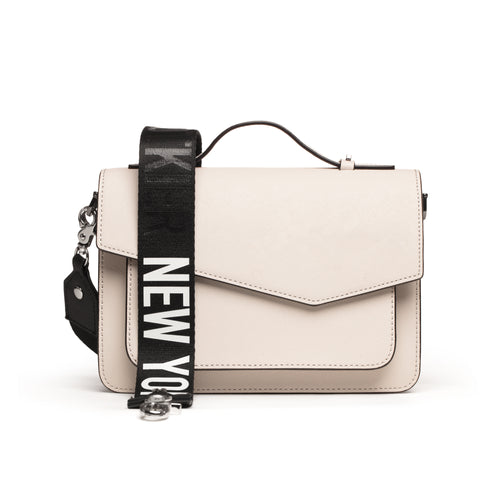 botkier crossbody strap with I heart new year lettering Alternate View