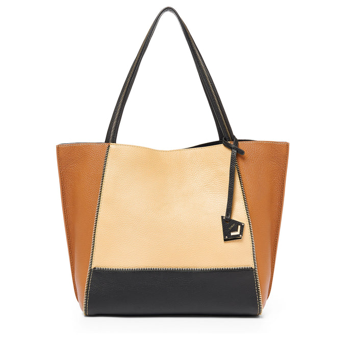 17SM0051-CBWEA botkier soho tote wheat colorblock A