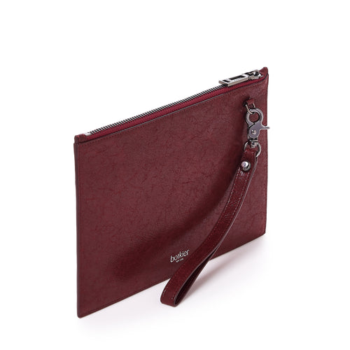 botkier trigger zip around wallet in bordeaux red Alternate View