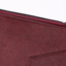 botkier trigger zip around wallet in bordeaux red