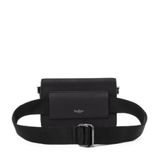 botkier cobble hill mini crossbody black belt strap