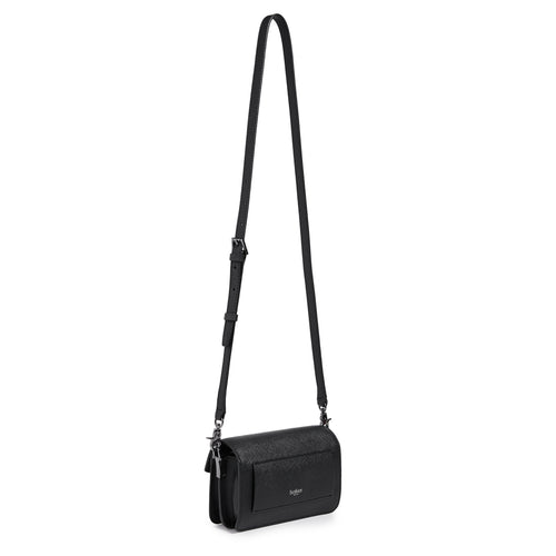 botkier cobble hill mini crossbody black front Alternate View
