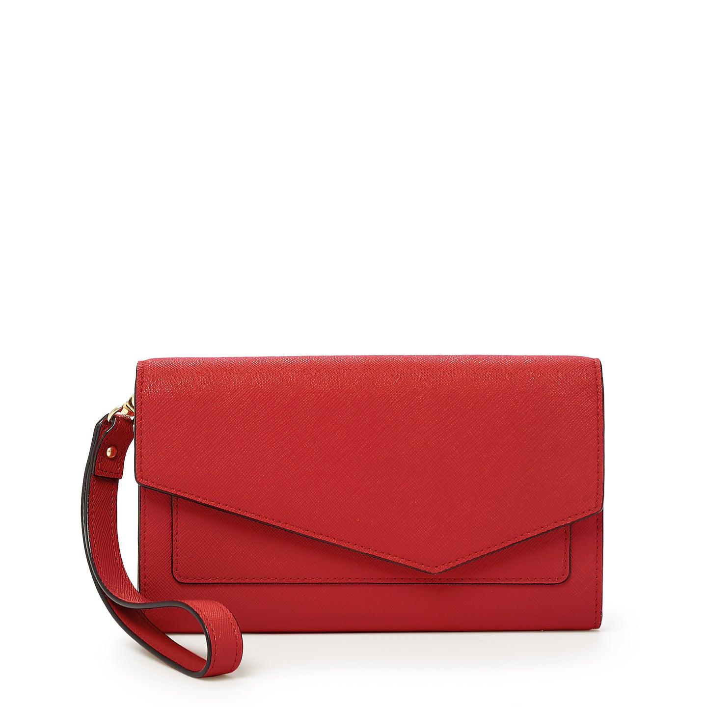 botkier cobble hill wallet in poppy red