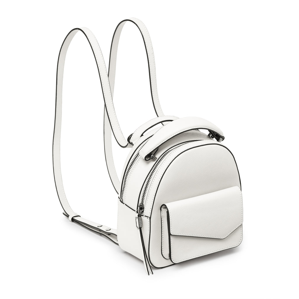 botkier cobble hill mini backpack in marshmallow white