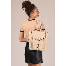 botkier trigger convertible backpack in fawn brown