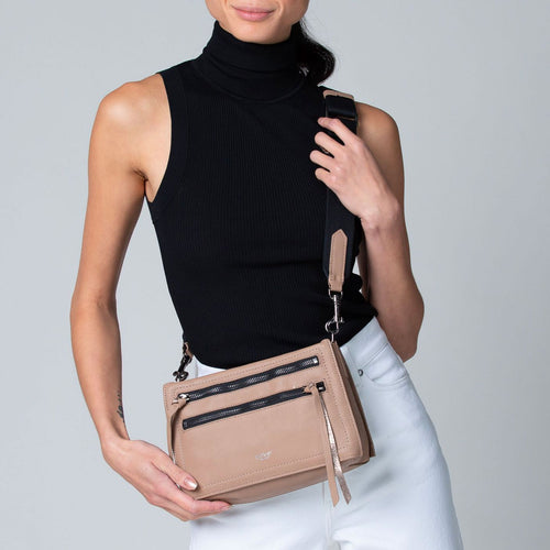 botkier chelsea crossbody shoulder bag in hazelnut brown Alternate View