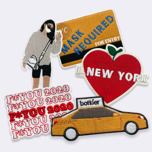 Botkier Patch Bundle Alternate View