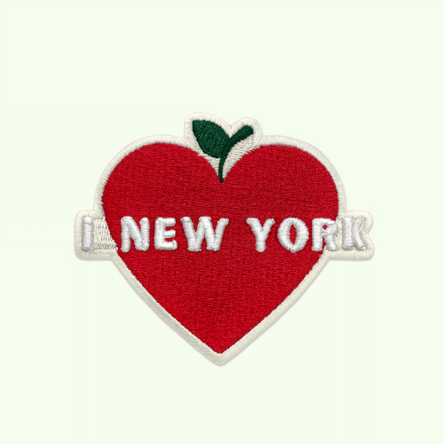 New York Heart Patch Alternate View
