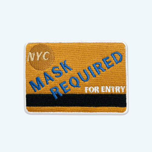 botkier n y c metrocard sticker patch Alternate View