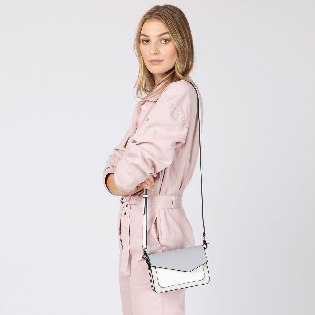 botkier cobble hill mini crossbody dove colorblock on figure