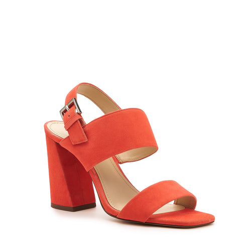 botkier farrah angled heel sandal in coral orange Alternate View