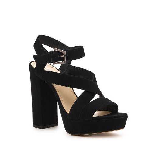 botkier phoebe platform heel sandal in black  Alternate View