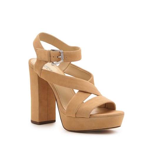 botkier phoebe platform heel sandal in sand  Alternate View