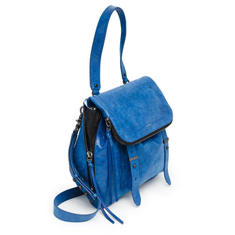 cobalt blue womens designer shoulder bag Alternate View