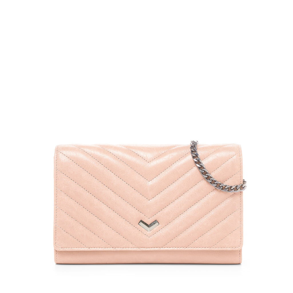 Soho Quilted Chain Wallet