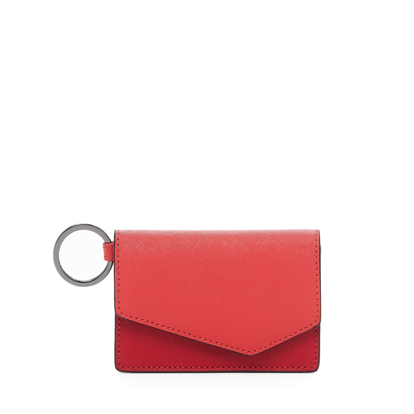 botkier cobble hill card case in pepper combo