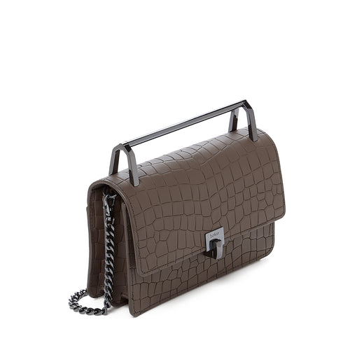 Lennox Crossbody (Croco) Alternate View