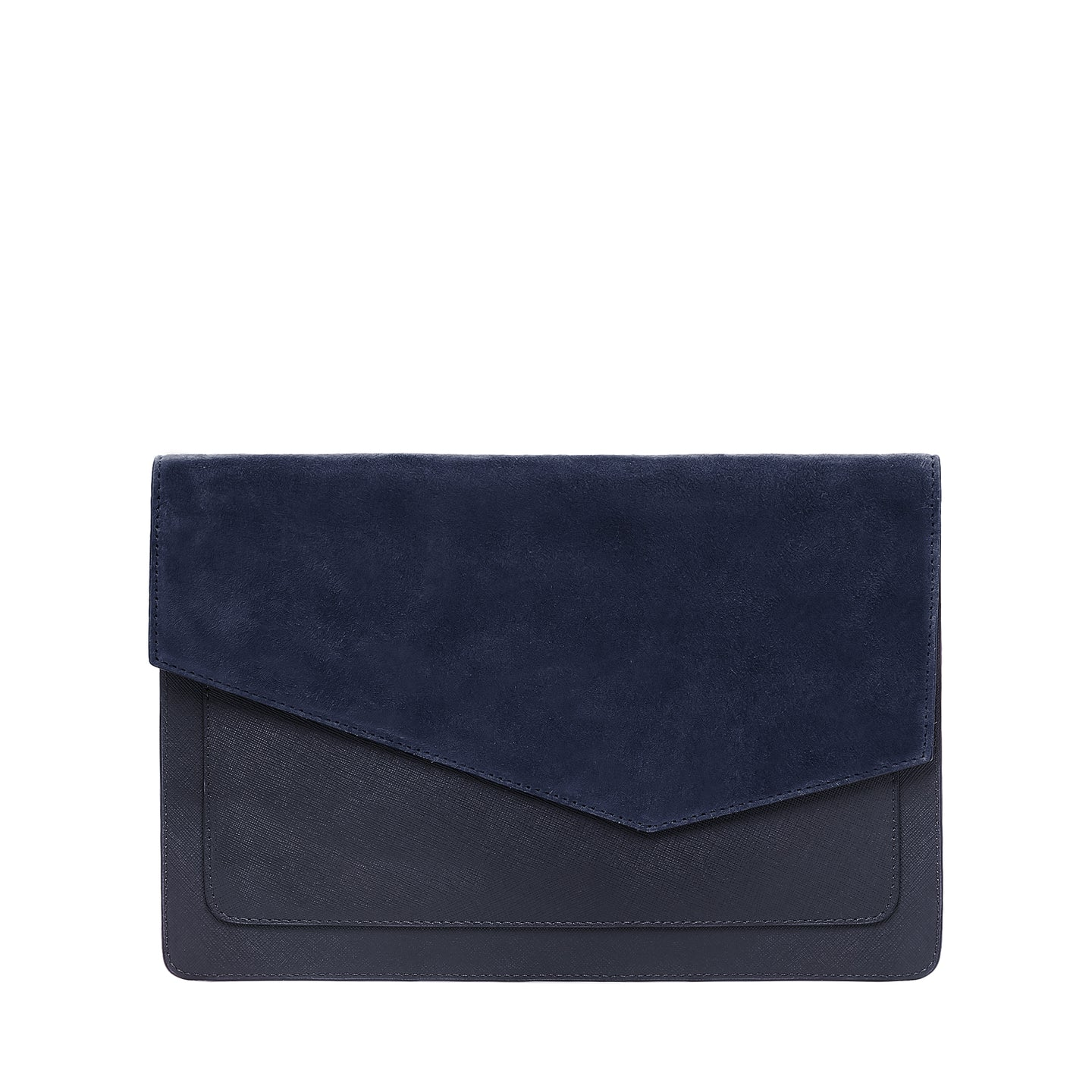 Cobble Hill Flap Clutch (Suede)