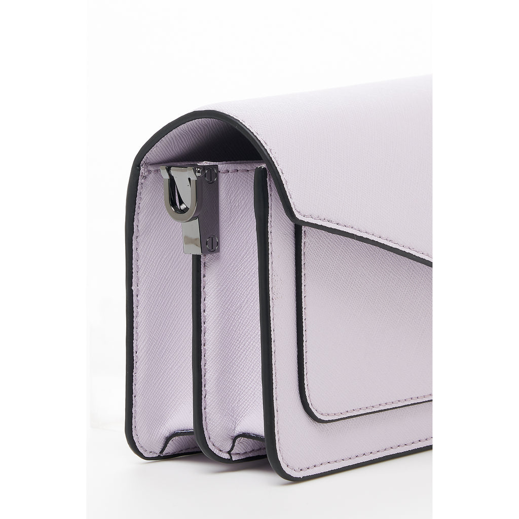 botkier cobble hill mini crossbody lavender close up