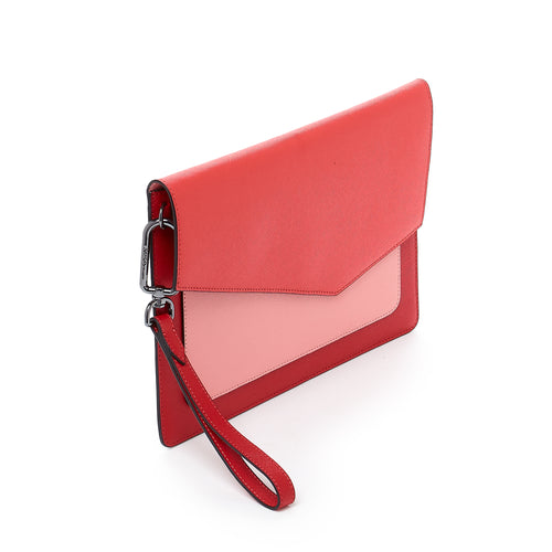 botkier cobble hill flap clutch in pepper combo Alternate View