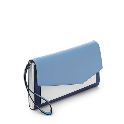 cobble hill clutch in sky colorblock Alternate View