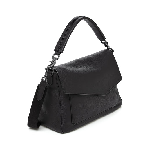 botkier cobble hill hobo black front Alternate View