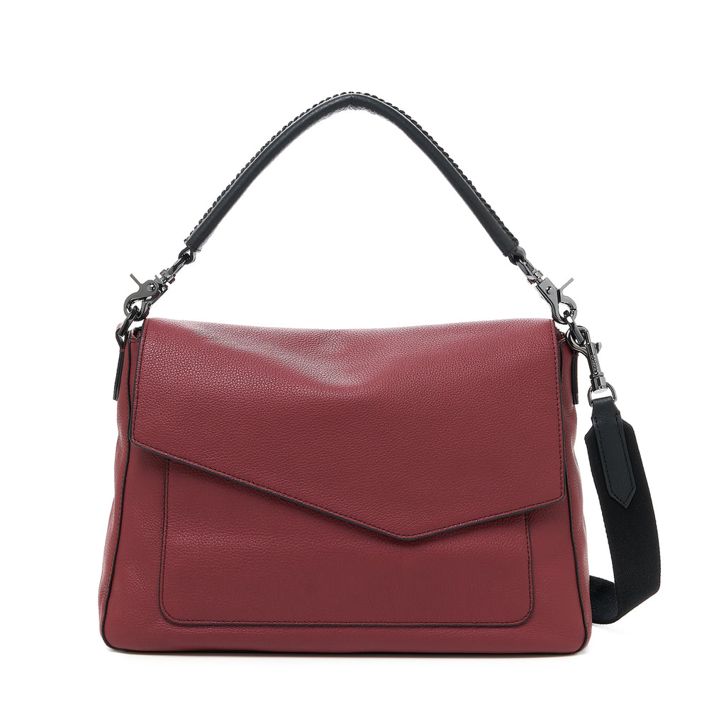 botkier cobble hill hobo cordovan front