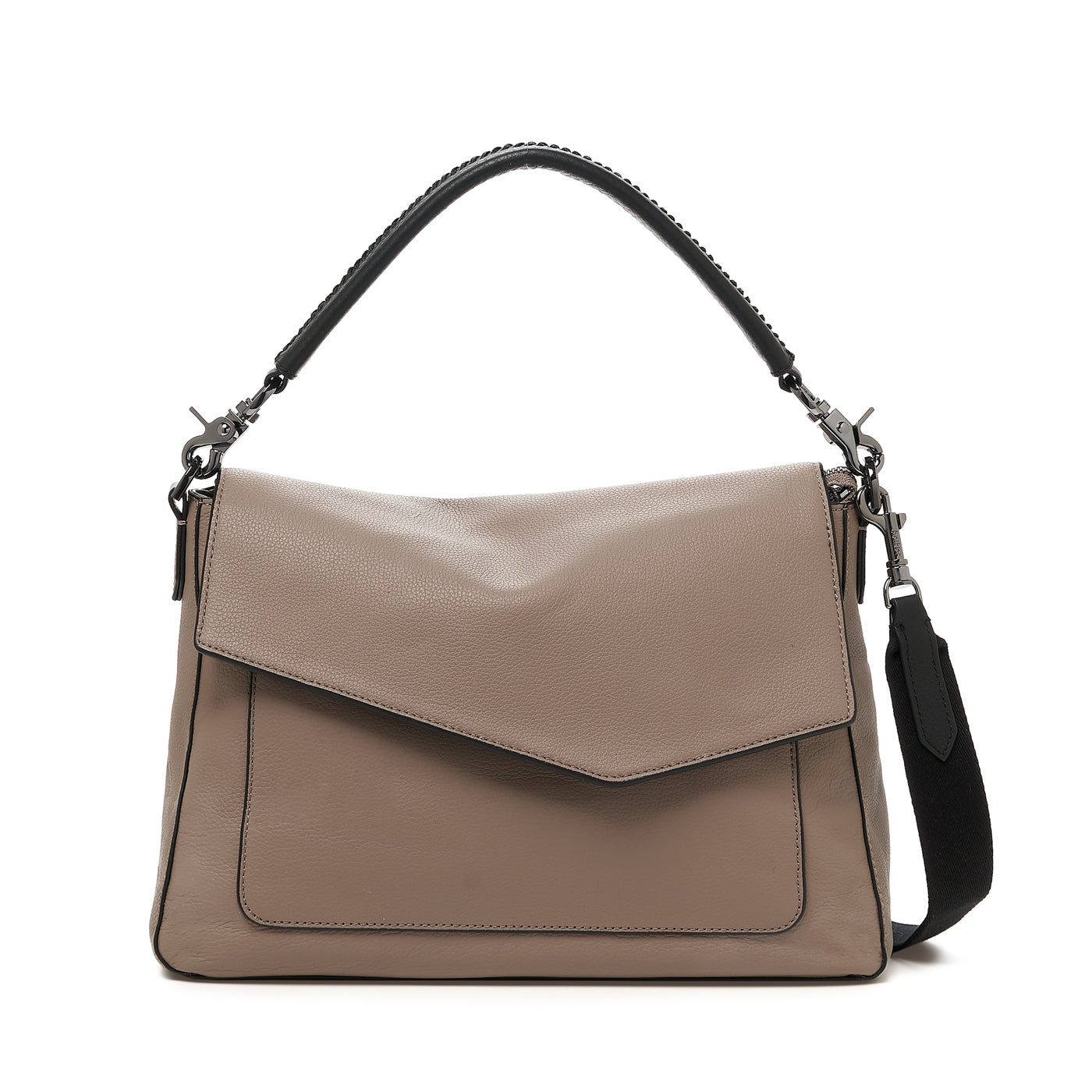 botkier cobble hill hobo truffle front
